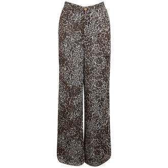 View Item Leopard Palazzo Trousers